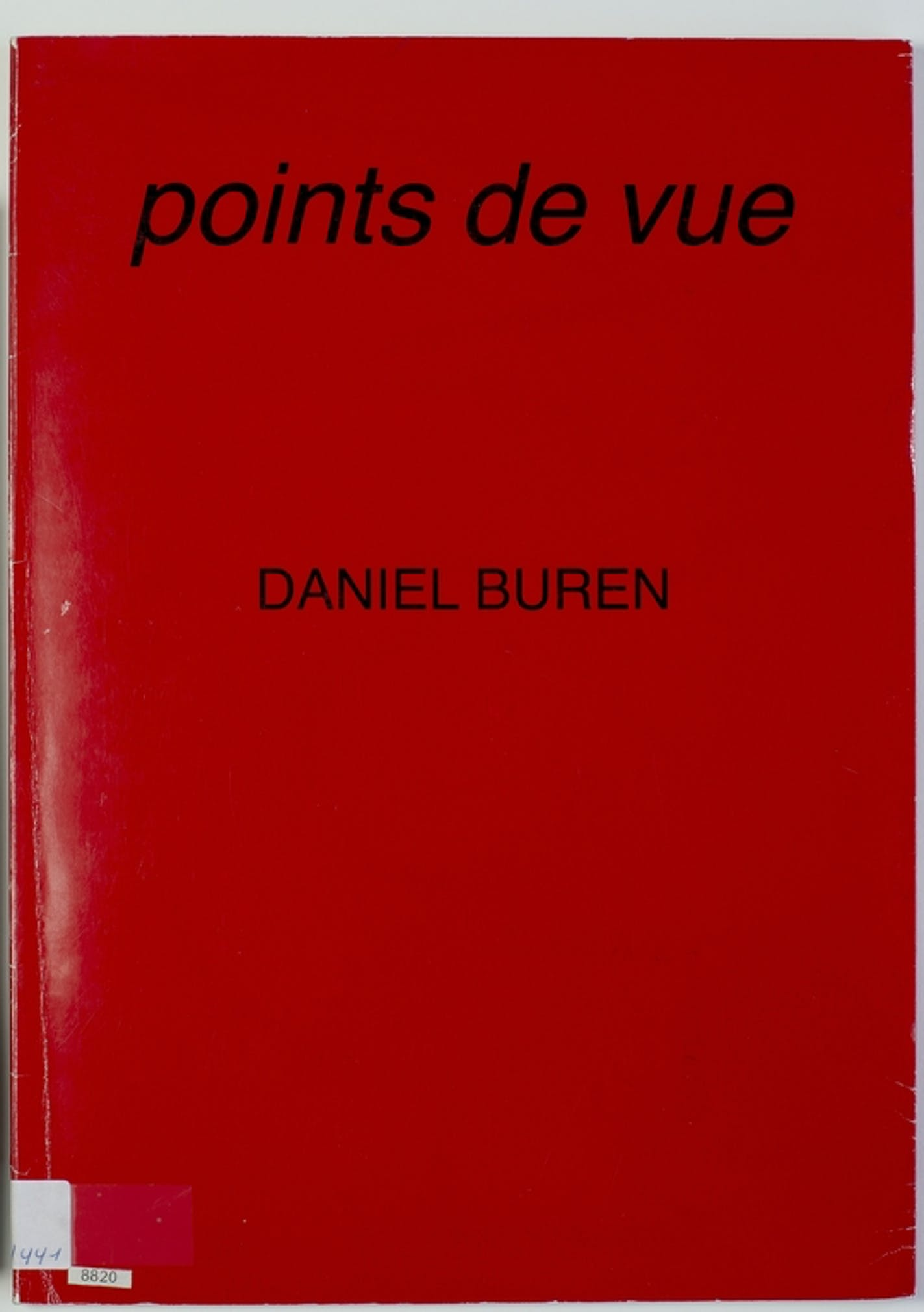 Daniel Buren - points de vue | Artworks | Collections | M